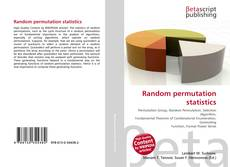Bookcover of Random permutation statistics