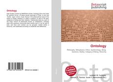Bookcover of Ontology