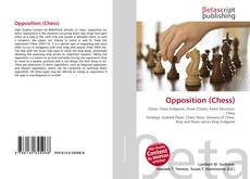 Copertina di Opposition (Chess)