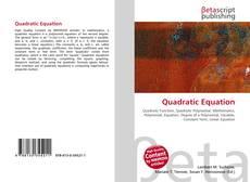Copertina di Quadratic Equation