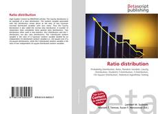 Bookcover of Ratio distribution
