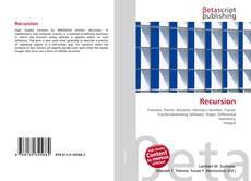 Bookcover of Recursion