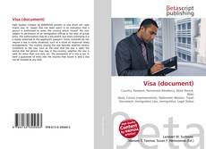 Buchcover von Visa (document)