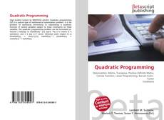 Copertina di Quadratic Programming