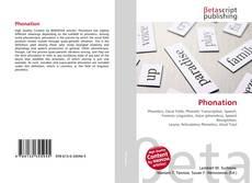 Buchcover von Phonation