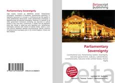 Bookcover of Parliamentary Sovereignty