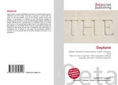 Bookcover of Oxytone