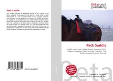Bookcover of Pack Saddle