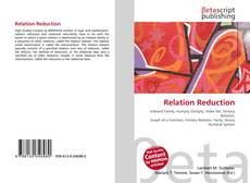Bookcover of Relation Reduction