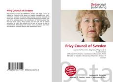 Bookcover of Privy Council of Sweden