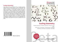 Bookcover of Scaling Geometry
