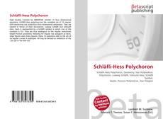 Couverture de Schläfli-Hess Polychoron