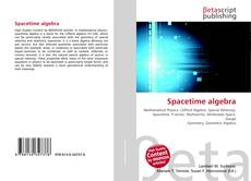 Bookcover of Spacetime algebra