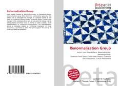 Portada del libro de Renormalization Group