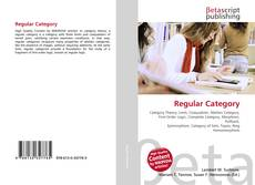 Bookcover of Regular Category