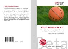 Bookcover of PAOK Thessaloniki B.C.