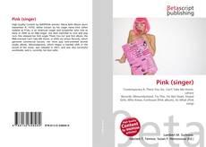 Copertina di Pink (singer)