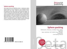 Capa do livro de Sphere packing