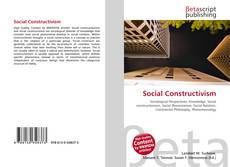 Capa do livro de Social Constructivism
