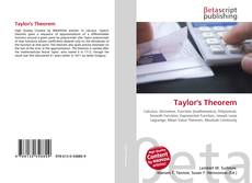 Bookcover of Taylor's Theorem