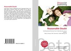 Bookcover of Reasonable Doubt