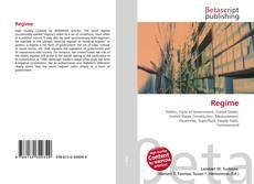 Capa do livro de Regime