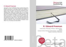 Bookcover of R. Edward Freeman