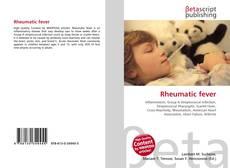 Обложка Rheumatic fever
