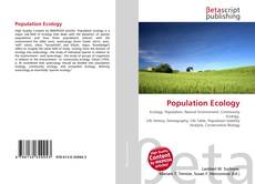 Buchcover von Population Ecology