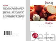 Bookcover of Rhizome