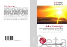 Bookcover of Rufus Wainwright
