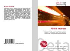 Couverture de Public Interest