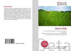 Bookcover of Sierra Club