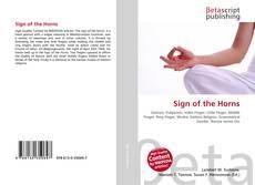 Buchcover von Sign of the Horns