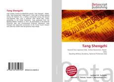 Bookcover of Tang Shengzhi