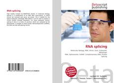 Couverture de RNA splicing