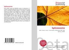 Bookcover of Spliceosome
