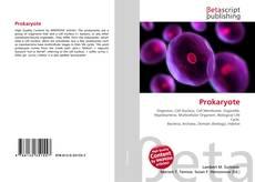 Обложка Prokaryote