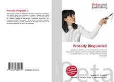 Bookcover of Prosody (linguistics)