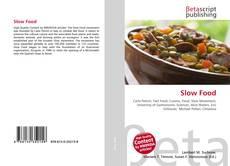 Обложка Slow Food