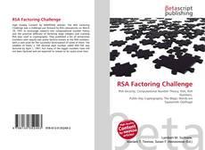 Buchcover von RSA Factoring Challenge
