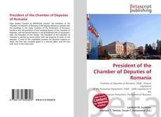 President of the Chamber of Deputies of Romania的封面