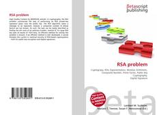 Bookcover of RSA problem
