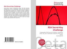 Bookcover of RSA Secret-Key Challenge