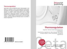 Bookcover of Thermoregulation