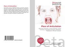 Buchcover von Place of Articulation