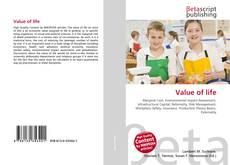 Buchcover von Value of life