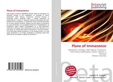 Bookcover of Plane of Immanence