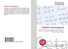 Buchcover von Uniform Convergence
