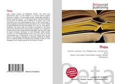 Buchcover von Thou